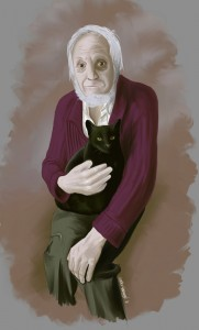 Man_and_his_cat