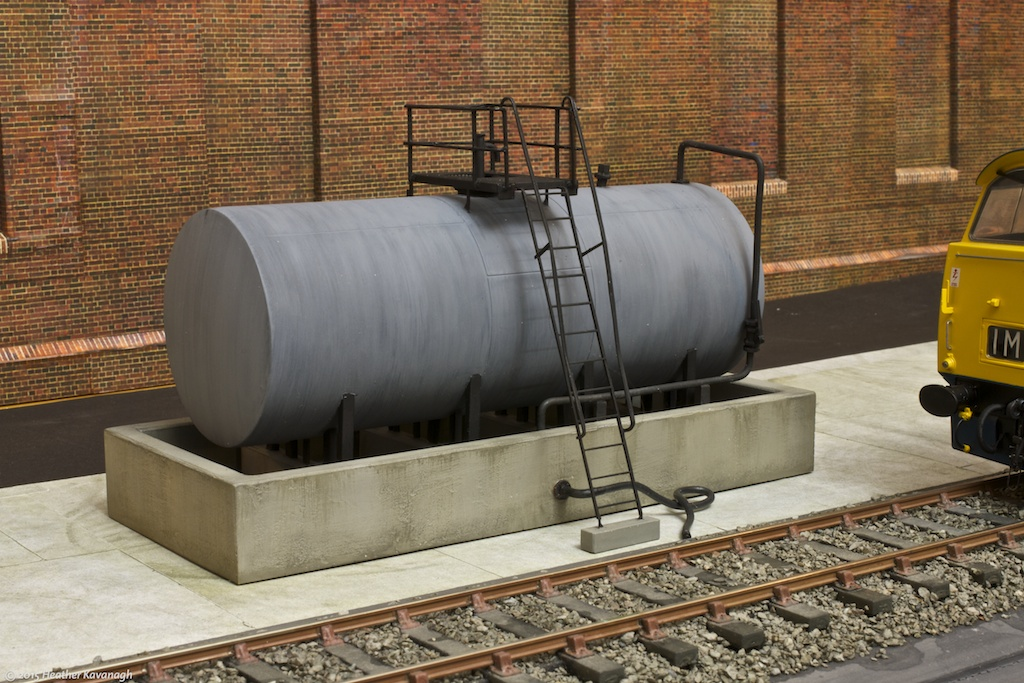 Diesel Fuel Storage and Delivery Point